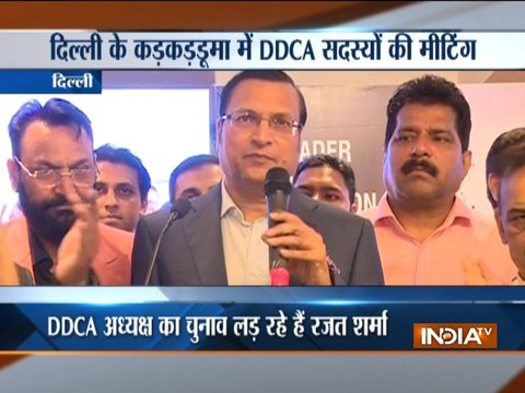 I will work for corruption-free and transparent DDCA: Rajat Sharma ahead of DDCA polls