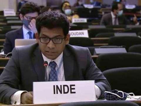 संयुक्त राष्ट्र मानवाधिकार परिषद में भारत ने लगाई पाकिस्तान, तुर्की और OIC को लताड़