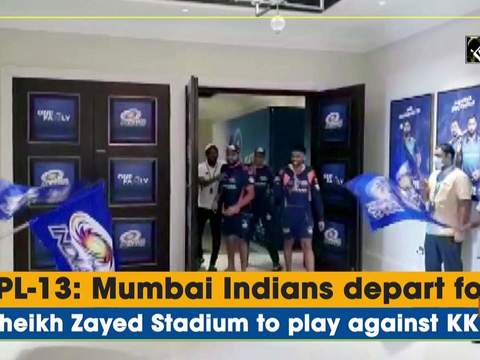 IPL-13: Mumbai Indians depart for Sheikh Zayed Stadium to play against KKR