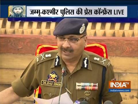 धारा 370 हटने के बाद से आतंकी घटनाओं में आयी कमी: जम्मू-कश्मीर डीजीपी