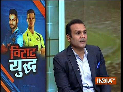 Gautam Gambhir once made me eat butter chicken for entire World Cup: Virender Sehwag