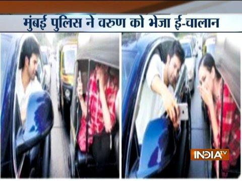 Maharashtra: Bollywood actor Varun Dhawan pulled up by Mumbai Police for a selfie with fan