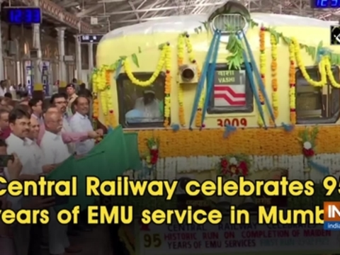 Central Railway celebrates 95 years of EMU service in Mumbai