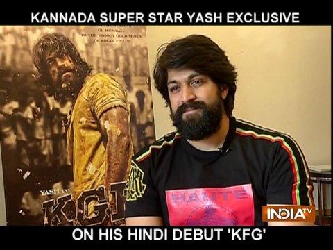Kannada star Yash reveals interesting details about KGF