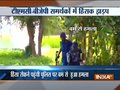 Police party attacked while trying to control the clash between TMC-BJP supporter in Bengal