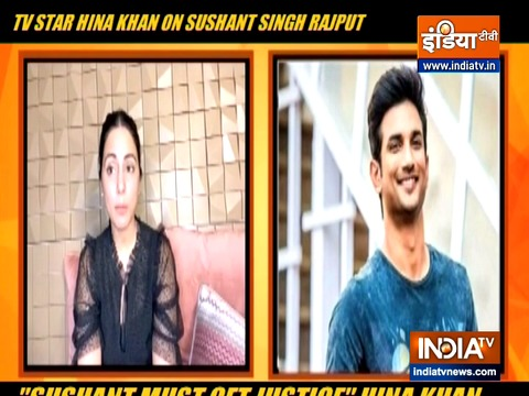 Whatever happened with Sushant Singh Rajput was wrong, says Hina Khan