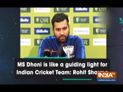 MS Dhoni will play crucial role in 2019 World Cup: Rohit Sharma