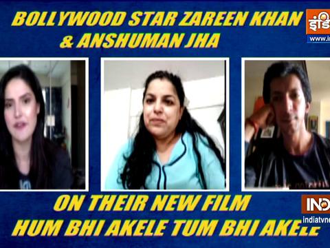 जरीन खान और अंशुमन झा ने इंडिया टीवी से की खास बात
