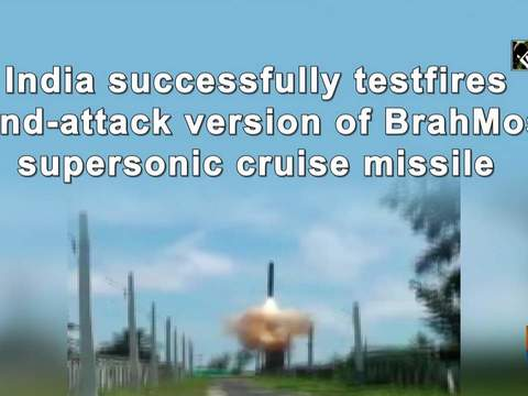 India successfully testfires land-attack version of BrahMos supersonic cruise missile