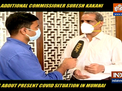 BMC additional commissioner Suresh Kakani talks about present Covid-19 situation in Mumbai