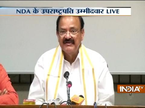 Presidential Polls: Painful to leave the party, feeling emotional at this juncture, says Venkaiah Naidu
