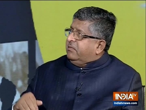 Muslims have the same right over the country as Hindus: Ravi Shankar Prasad