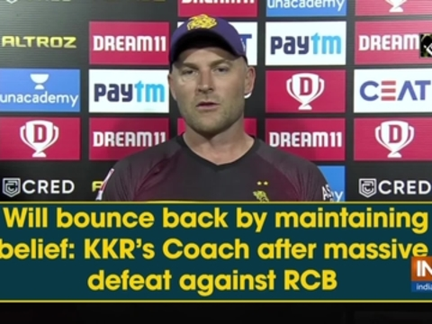 Will bounce back by maintaining belief: KKR's Coach after massive defeat against RCB