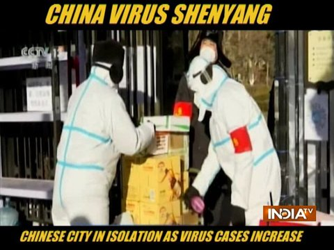 Chinese city in isolation as virus cases increase