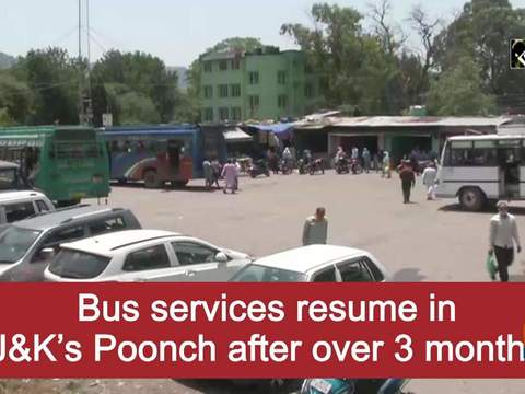 Bus services resume in J-K's Poonch after over 3 months