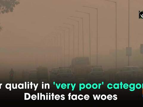 Air quality in 'very poor' category, Delhiites face woes