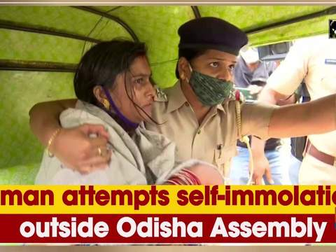Woman attempts self-immolation outside Odisha Assembly