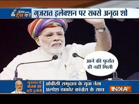 Special Show: It's 'Chai Wala' vs 'Raj' family in Gujarat election war