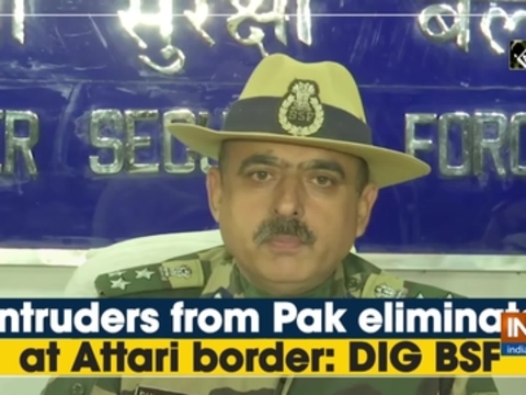 2 intruders from Pak eliminated at Attari border: DIG BSF