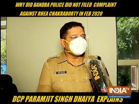 Sushant case: insisted on a written complaint by OP Singh, says DCP Paramjit Sngh Dahiya