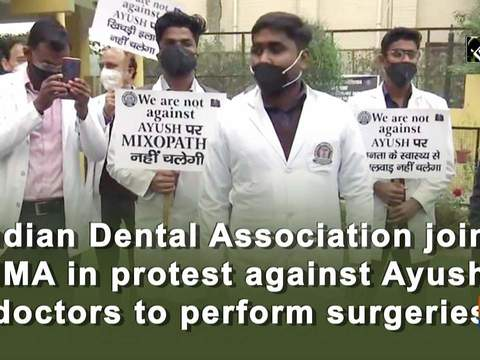Indian Dental Association joins IMA in protest against Ayush doctors to perform surgeries