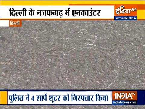 दिल्ली पुलिस ने एनकाउंटर में जाफरपुर कलां एरिया से किया 4 को गिरफ्तार