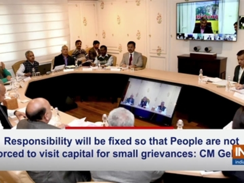 Responsibility will be fixed so that people are not forced to visit capital for small grievances: CM Gehlot