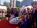 Belgian car wins Darwin to Adelaide World Solar Challenge