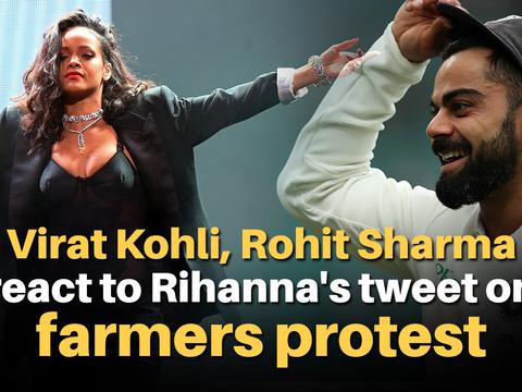 Virat Kohli, Rohit Sharma react to Rihanna's tweet on farmers protest