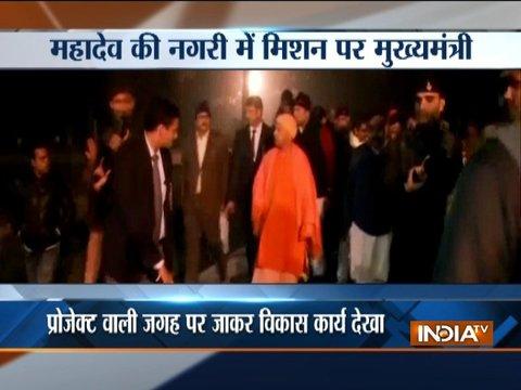 Yogi Adityanath to review development works in Varanasi before PM's visit