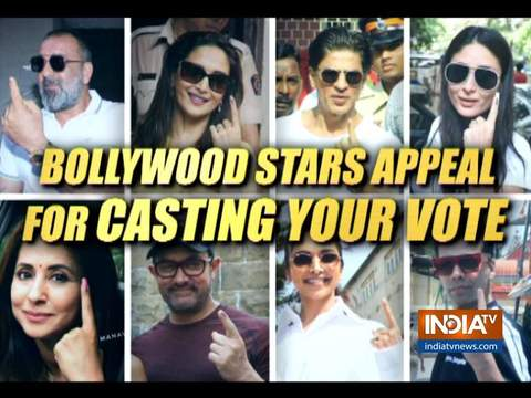Shabana Azmi, Javed Akhtar and other Bollywood stars appeal fans to cast their vote