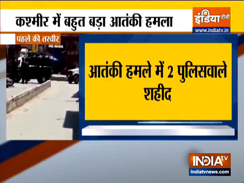 Terrorist attack in Kashmir's Sopore; 2 civilains, cops killed