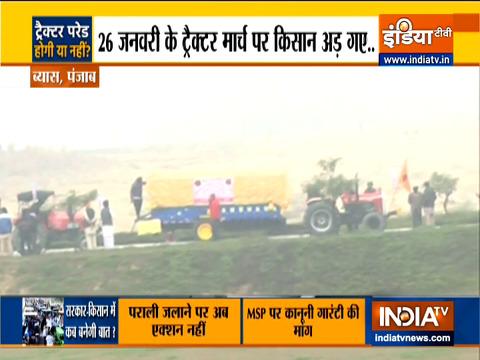 किसान समूहों ने कहा कि गणतंत्र दिवस पर ट्रैक्टर मार्च शांतिपूर्ण होगा | देखिए ग्राउंड रिपोर्ट
