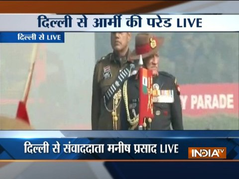 Army Chief General Bipin Rawat awards Sena medals posthumously