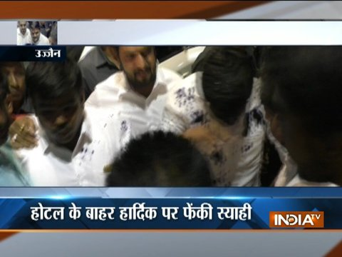 Man arrested for throwing ink at Hardik Patel in Ujjain