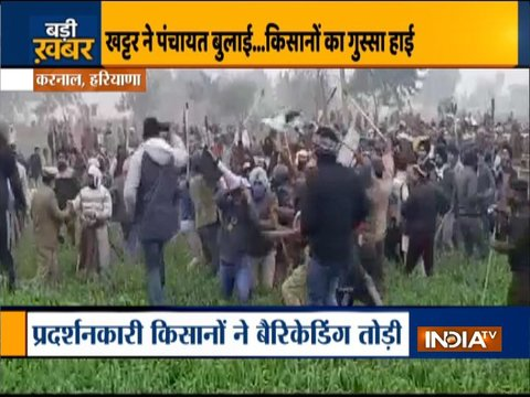 Haryana Chief Minister cancels Farmers' Meet after chaos by protesters