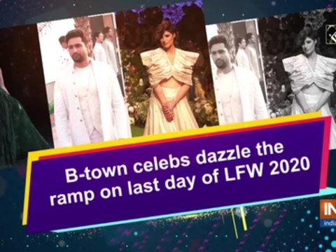 B-town celebs dazzle the ramp on last day of LFW 2020