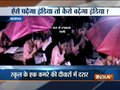 UP: Kids study under umbrella as school roof leaks in Baghpat