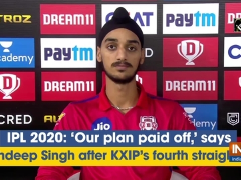 IPL 2020: 'Our plan paid off,' says Arshdeep Singh after KXIP's fourth straight win
