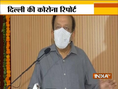 Top Big News | Union Health Minister Dr Harsh Vardhan visits Lady Hardinge Medical College