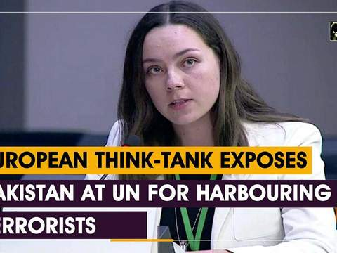 European think-tank exposes Pakistan at UN for harbouring terrorists