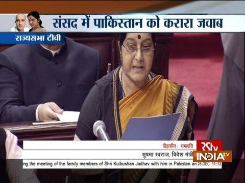 The meeting was started in absence of the Deputy High Commissioner: Sushma Swaraj