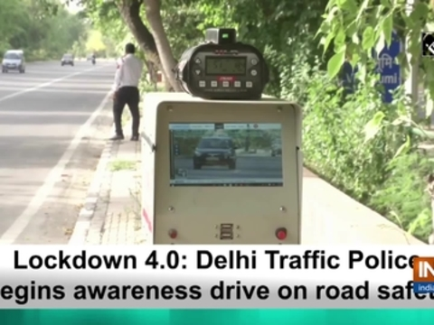 Lockdown 4.0: Delhi Traffic Police begins awareness drive on road safety