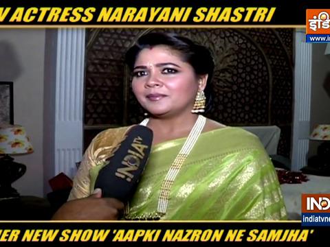 Narayani Shastri on her show Aapki Nazron Ne Samjha