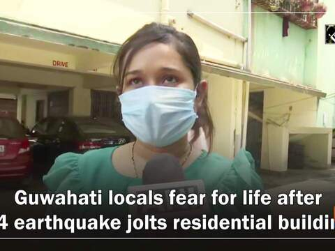 Guwahati locals fear for life after 6.4 earthquake damaged residential building