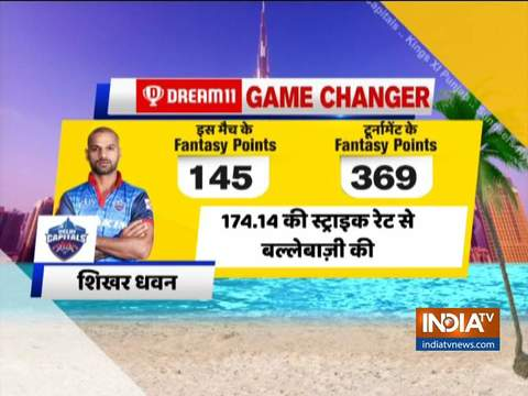 IPL 2020: Dhawan's maiden ton powers Delhi to five-wicket win over Chennai