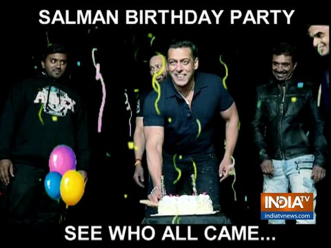 Salman Khan celebrates 53rd birthday at Panvel farmhouse with close friends and family