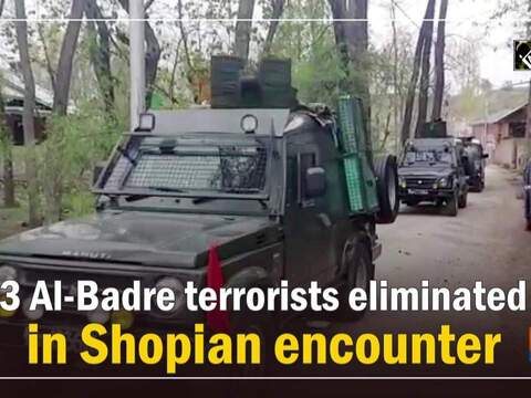 3 Al-Badre terrorists eliminated in Shopian encounter