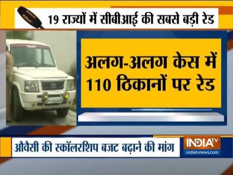 110 raids in 19 states : CBI's nationwide crackdown against corruption