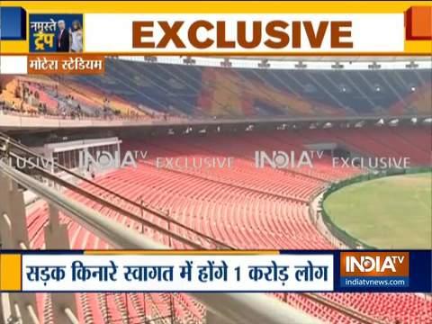 अहमदाबाद के मोटेरा स्टेडियम में होगा मोदी-ट्रंप का मेगा शो